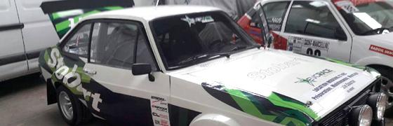 TPC avec BTRacing sur le rallye du Mont-Blanc !